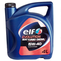 Elf Evolution 500 Turbo Diesel 15W-40 - 4 Литра