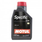 MOTUL SPECIFIC BMW LONG LIFE-04 5W40 - 1 литър