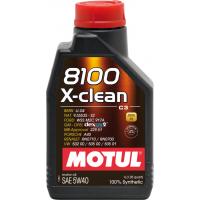 Motul 8100 X-clean 5W-40 - 1 Литър