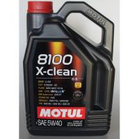 Motul 8100 X-clean 5W-40 - 4 Литра