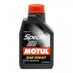 MOTUL SPECIFIC VW 505.01 5W-40 - 1 литър