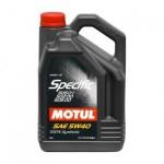 MOTUL SPECIFIC VW 505.01 5W-40 - 5 литра