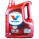 Valvoline MaxLife 5W-40 - 4 литрa